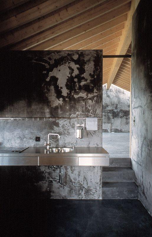 Wespi de Mueron - house renovation, Caviano 2002. Photos (C) Hannes Henz.