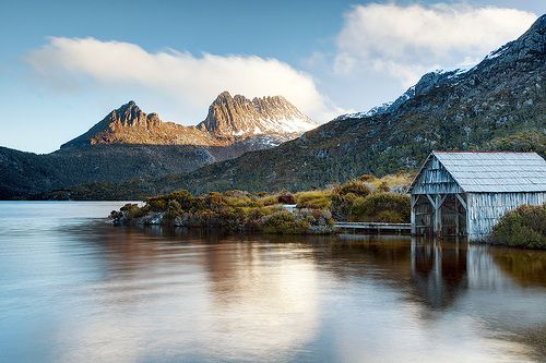 Cradle Mountain, Tasmania. It was so beautiful when we visited.