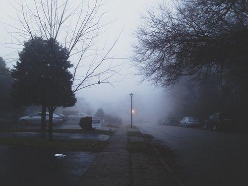 fog | via Tumblr indie,  street
