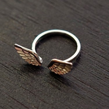 Wings Ring - Silver: Silver Wings, Angel Wings, Style, Stuff, Jewellery, Wings Rings, Jewelry Accessories, Fashion Jewelry, Products