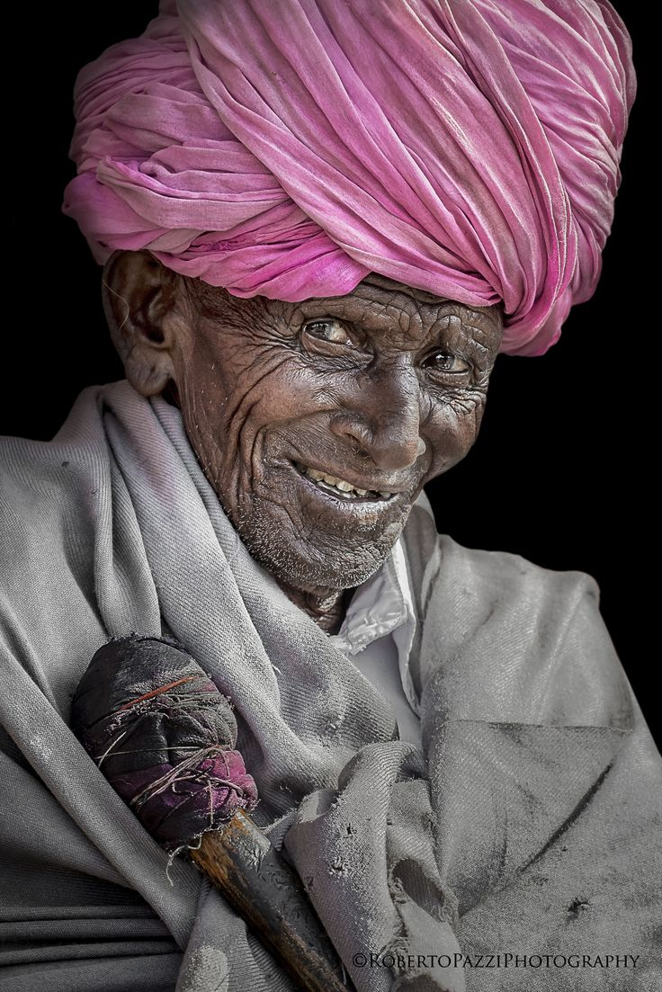 Elder man in Jaipur (India). Visit http://robertopazziphotography.weebly.com…