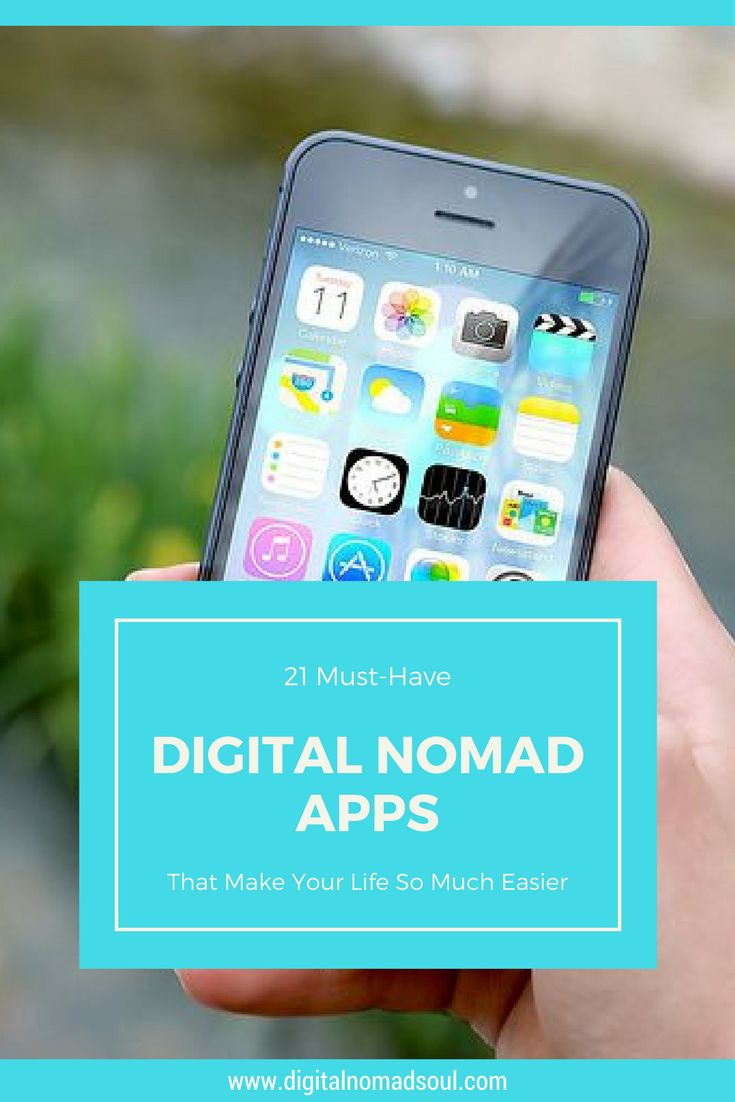 These awesome apps makes your life as a digital nomad, freelancer or remote worker so much easier! Click here to find the best (free) nomad apps!