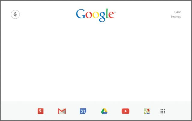 A Bold Google Homepage For The Modern Era | Co.Design | business + design