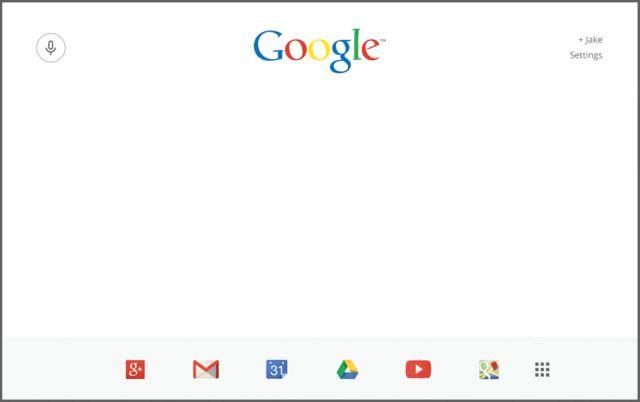 A Bold Google Homepage For The Modern Era | Co.Design | business + design