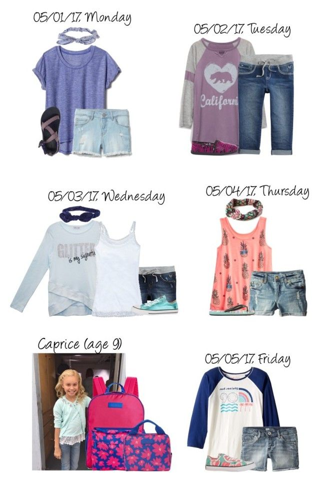 """A Week of School for Caprice {05/01-05/05} 