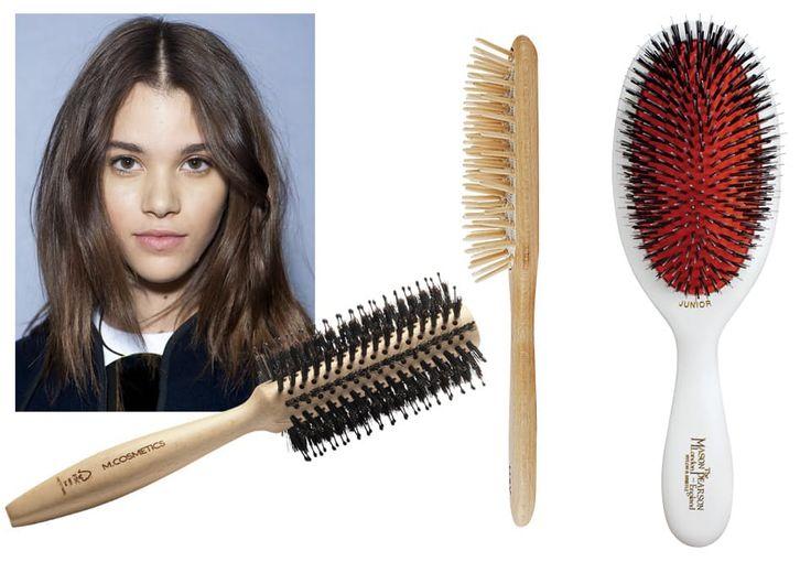 Sådan får du sundt hår - step 1 en god børste