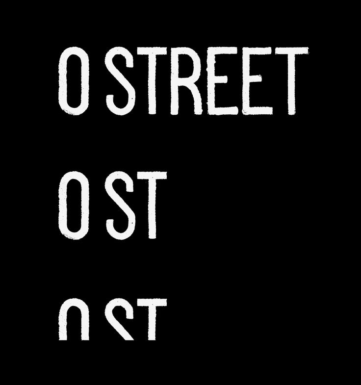 New Logo and Identity by and for O Street