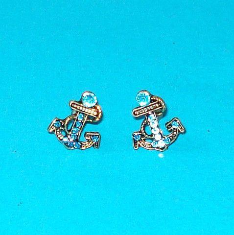 Anchors Away Earrings - Mookie Designs