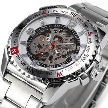 2016 nova relógio real Carving luxo mecânico automático de esqueleto dos homens do esporte relógio Festina Relojes Deportivos legal Horloges(China (Mainland))