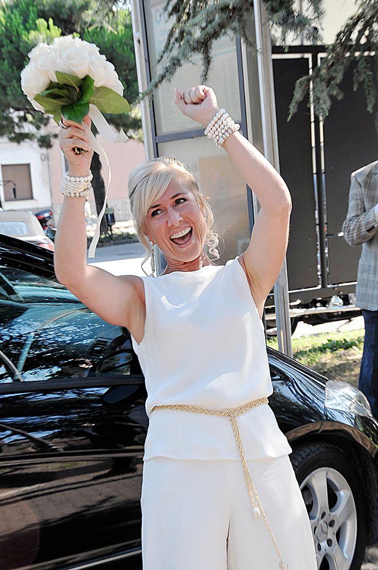 Boutique della Fotografia Fotografo di Matrimoni a Milano -La felicità di essere arrivata finalmente quasi all'altare....