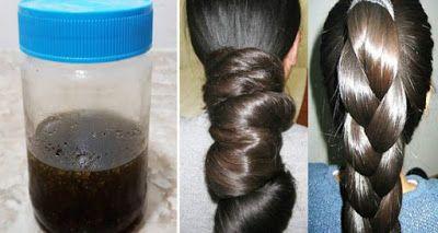 ضعيها على شعرك و الفراغات لمدة ساعتين ولن تصدقي النتيجة بعد مرور شهر واحد فقط شعر كثيف وطويل وناعم كشعر الهنديا Long Hair Styles Hair Treatment Hair Remedies