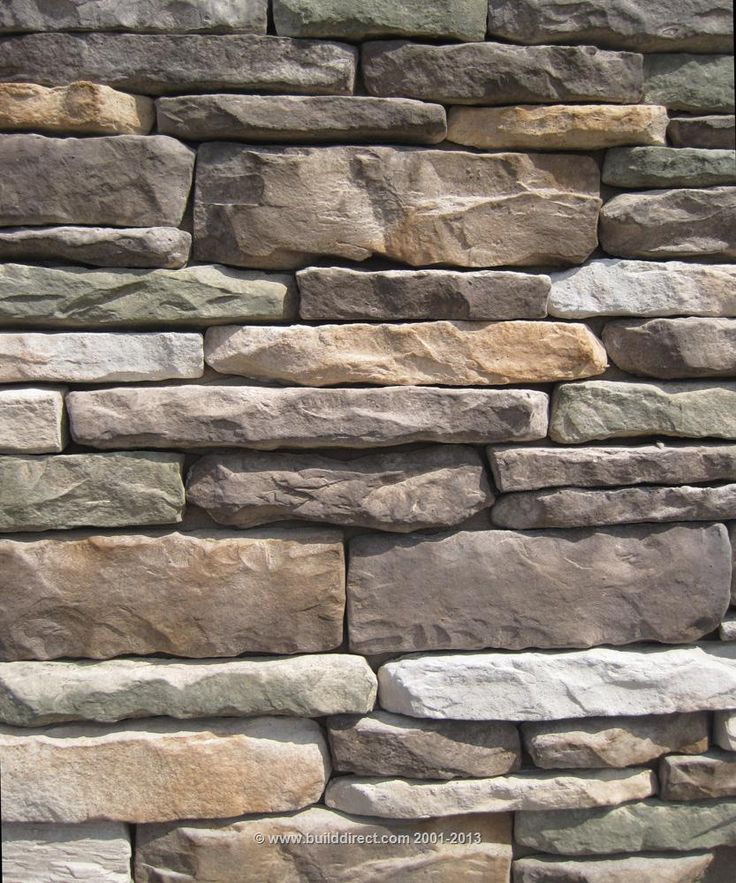BuildDirect: Manufactured Stone Veneer Manufactured Stone Veneer   Ledgestone Collection   Mossy Creek
