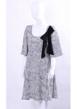 Sukienka z kokardą Elisabetta Franchi