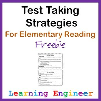 Every year I create a checklist of strategies for students to practice with before the big reading test. They can't use it on the real reading test but we practice enough so hopefully students will remember it on the big day. I always seem to tweak the process a little each year looking for that perfect amount of guidance that will be just right. Not too little and not too much.