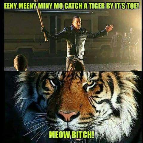 Negan and Shiva funny meme