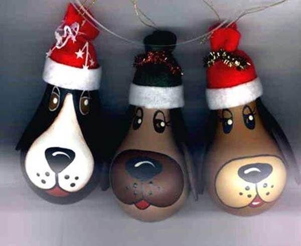 собака в виде игрушки на елку 1