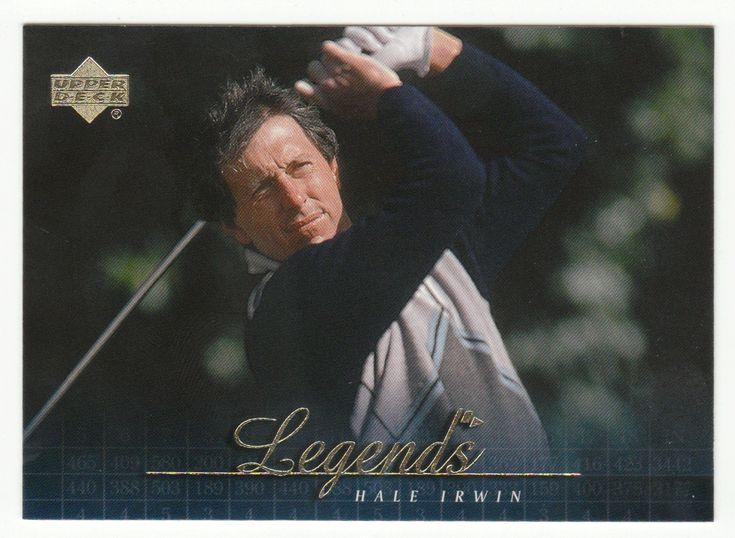 Hale Irwin # 58 - 2001 Upper Deck Golf