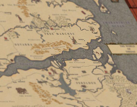 Thedas Dragon Age World Map Renaissance by TheFantasyEngineer | Art ...