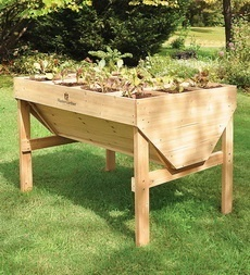 Square Foot Raised Bed Gardening Table dream-backyard