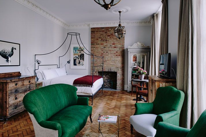 Art Meets Eclectic Luxury at the New Artist Residence Hotel in London | http://www.yatzer.com/artist-residence-london