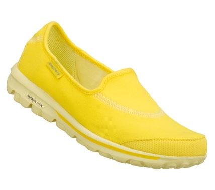 yellow skechers
