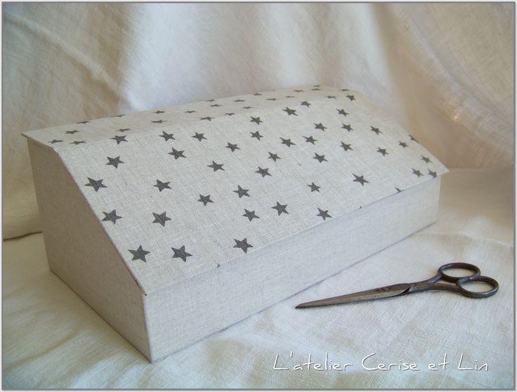283 best images about carton sur pinterest bo te for Kit boite a couture