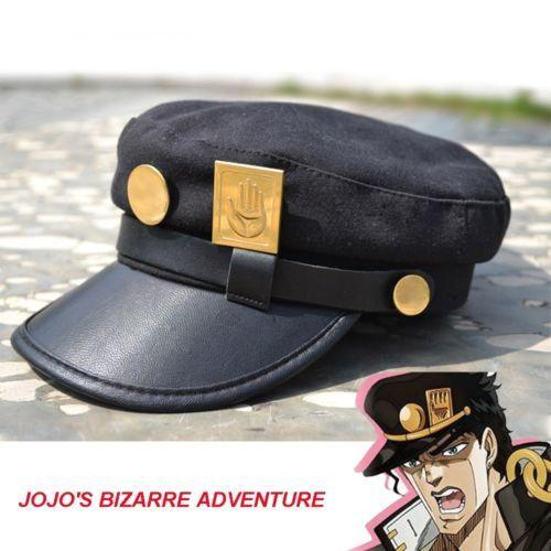 Hot New  Unisex Anime Jojo's Bizarre Adventure Hat Jotaro Kujou Army hat