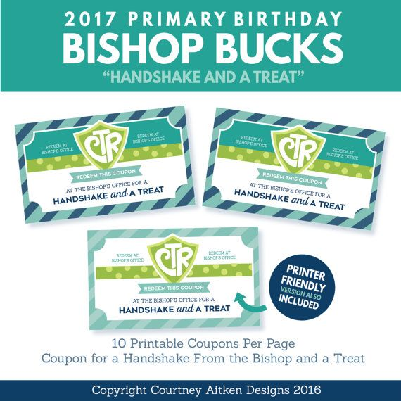 2017 LDS Choose the Right Primary Birthday by CourtneyAitkenDesign