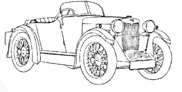 auto_epoca_6 disegni da colorare per adulti e ragazzi