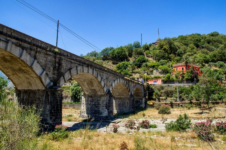 Old bridge in Sicily by Franco Romano on 500px