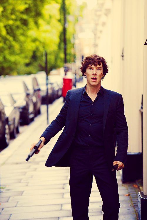 Benedict Cumberbatch can shoot me