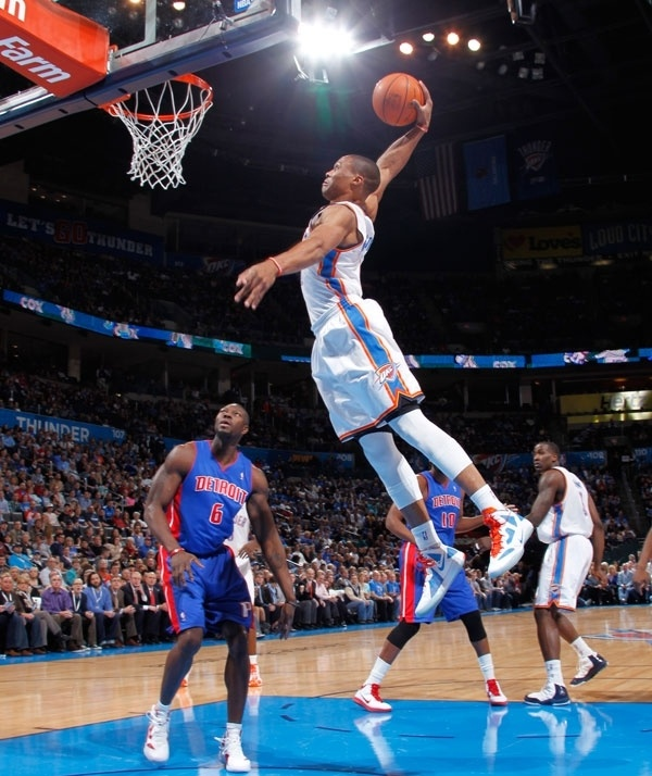 Russell Westbrook - I believe I can fly...