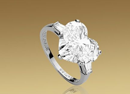 heart shaped engagement ring see more bvlgari heart shaped jewelry