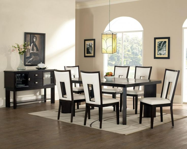 contemporary cheap dining room sets and small pendant lighting with white upholstered http