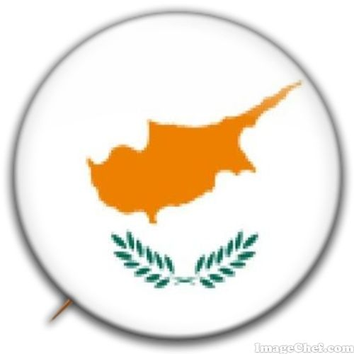 Cyprus flag badge