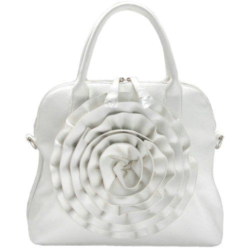 80% Off. Only $26.99 ! LOVE ! LOVE ! LOVE THIS! Rose Handbag (Rosette Purse) Rose Handbag (Rosette Purse)