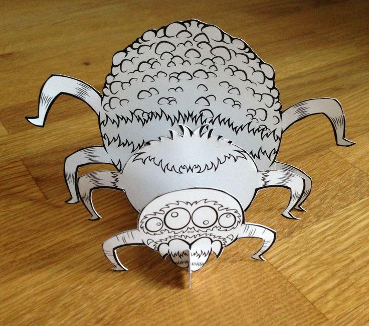 HALLOWEEN UITNODIGING. Coming soon. Binnenkort is de Scary Spider verkrijgbaar in de EUM shop. Maak je halloween party helemaal af met de scary spider uitnodiging.