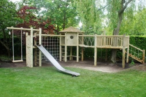 Bespoke Wooden Climbing Frames - Climbing Frames, Tree Swings And Playgrounds hand made From British Wood, Designed Just For You From JC Gardens And Climbing Frames