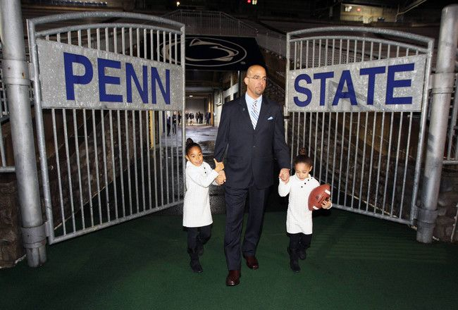 PENN STATE – FOOTBALL 2014 – James Franklin is just weeks away from signing his first recruiting class as the head coach at Penn State.  Franklin was named the 16th head coach in program history on Saturday. He replaces Bill O'Brien, who did a remarkable job of keeping the program competitive after the Jerry Sandusky scandal rocked the university back in 2011.