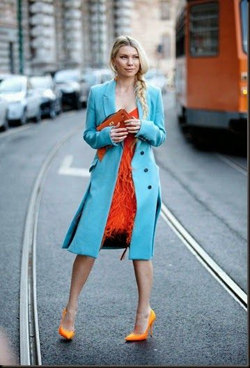 Street Style from Milan Fashion Week Fall 2014