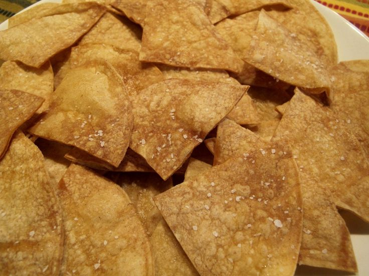 BASICS:  Tostaditas al Horno (Toasted Corn Tortilla Chips)