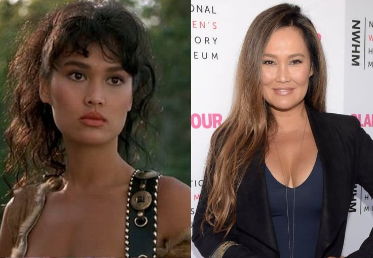 Tia Carrere  As the foxy rock chick, Cassandra, in the Wayne's World movies, Tia Carrere stole the hearts of men all over the globe and made women go green with envy. After that, she went on to star alongside Arnold Schwarzenegger in True Lies. Since then, we haven't seen her on both the small and big screen. She has had a fair amount of success with her singing career though with two of her Hawaiian music albums winning her Grammies.