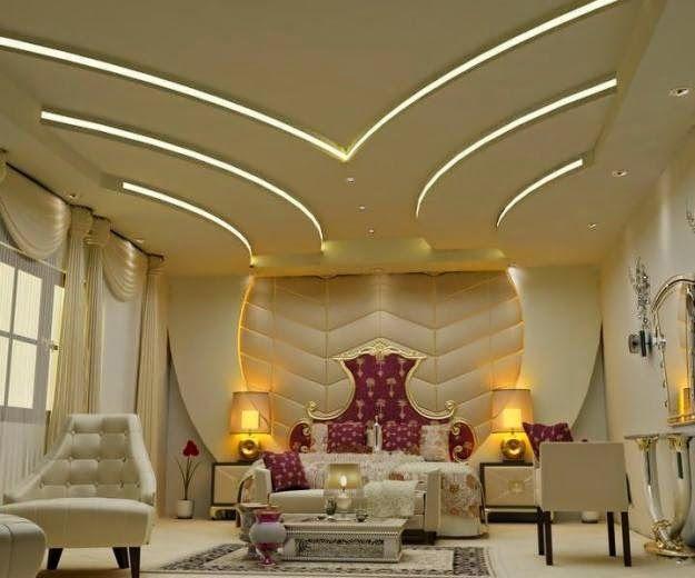 gypsum board false ceiling design, multilevel ceiling lights