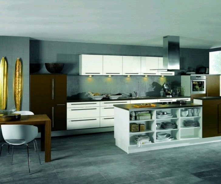 modern house wallpapers: Modern House Kitchen ~ celwall.com Home Design Wallpapers Inspiration