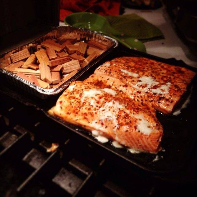 Smoked Salmon on a Gas Stove-Top   sea food   Pinterest