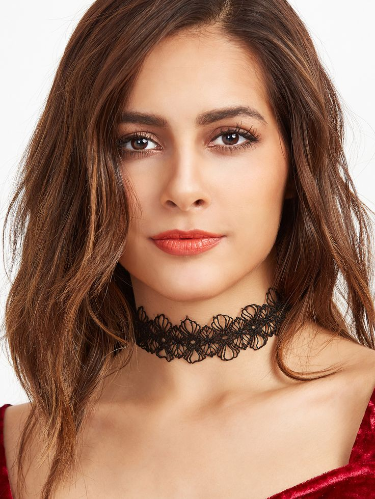 Shop Black Floral Lace Hollow Out Choker Necklace online. SheIn offers Black Floral Lace Hollow Out Choker Necklace & more to fit your fashionable needs.