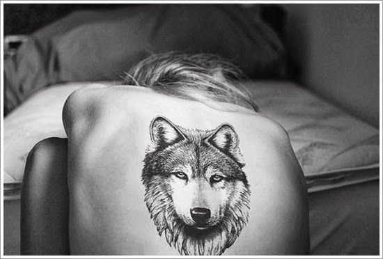 """wolf tattoo ideas. """"A wolf does not concern herself with the opinions of sheep."""""""