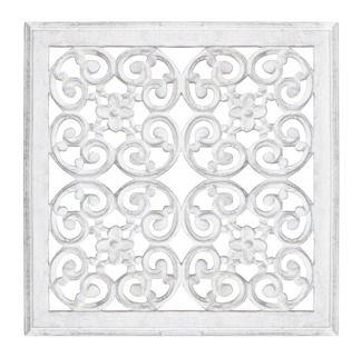 Carve Väggdekoration Anitikvit, 45x45 cm