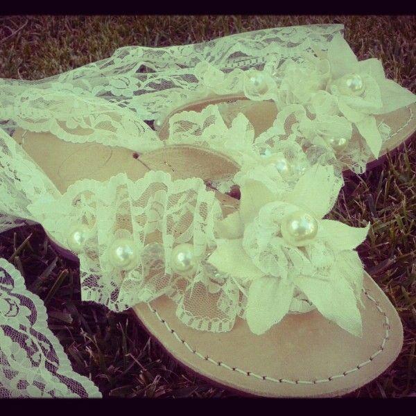 Wedding sandals