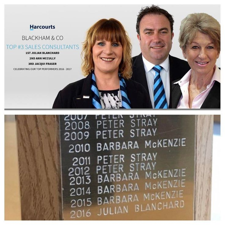 Honored to be awarded the Number 1 Salesperson for the Harcourts franchise for 2016-17. Thanks to my amazing vendors clients colleagues and assistant Codie for their support. #harcourts #timaru #standingontheshoulderofgiants #realestate